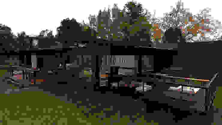 Rustikale Häuser von Élcio Bianchini Projetos Rustikal