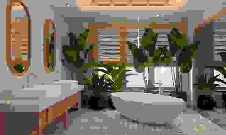 CÔNG TY THIẾT KẾ NHÀ ĐẸP SANG TRỌNG CEEB Country style bathroom