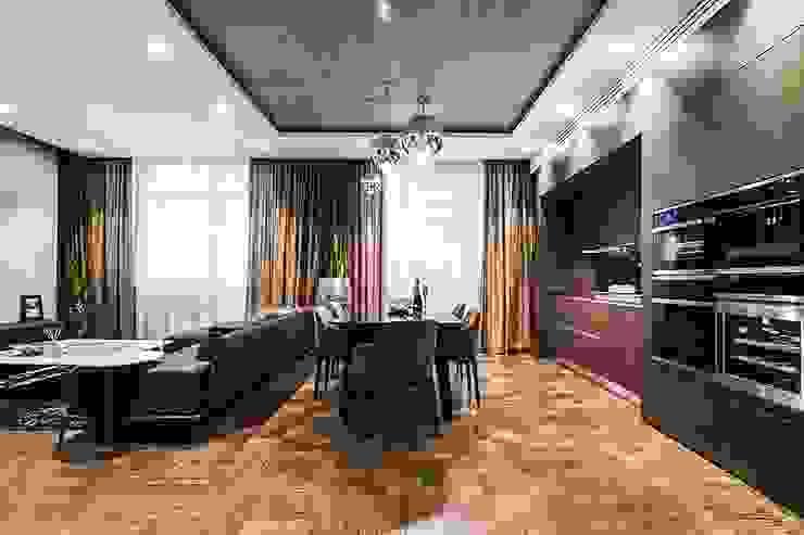 Аппартаменты под сдачу Кухни в эклектичном стиле от Orel Andre Эклектичный