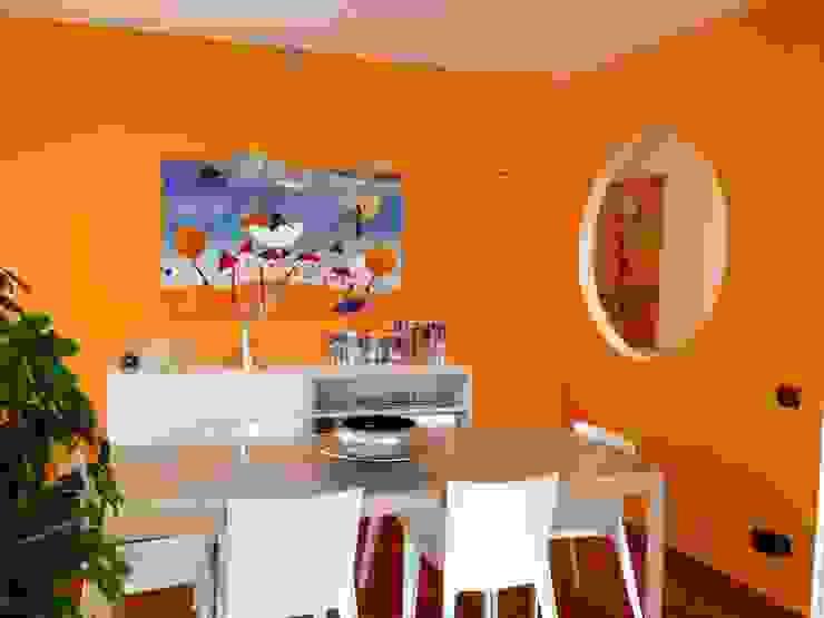 Simona Ruscitto 现代客厅設計點子、靈感 & 圖片