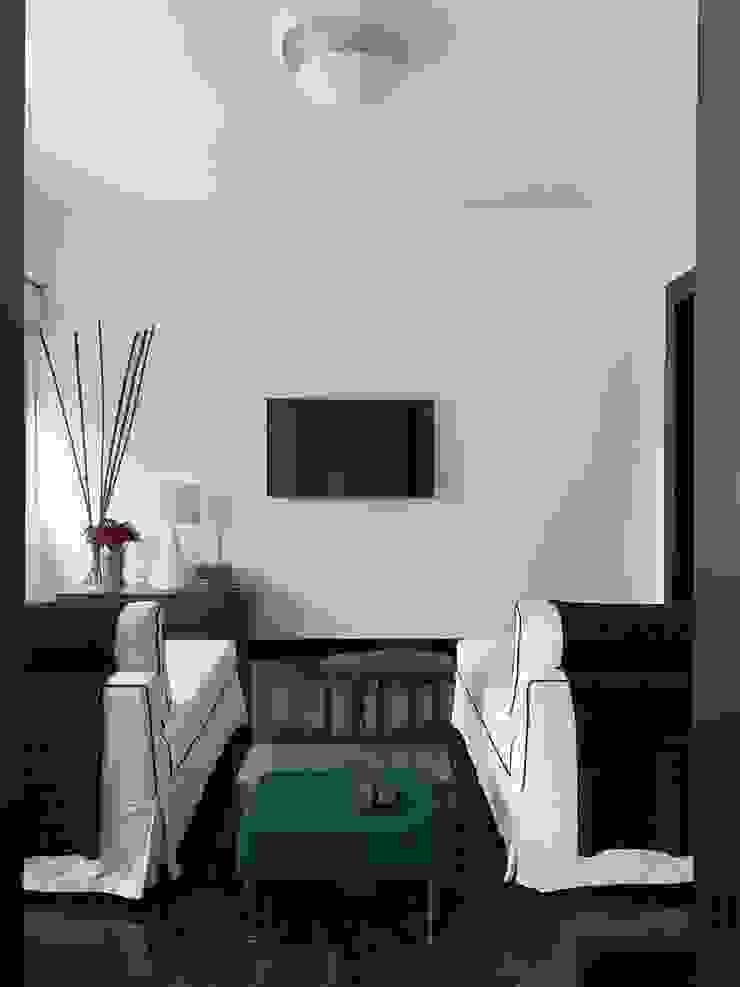 Salon moderne par AMMA PROJETOS Moderne Bois Effet bois