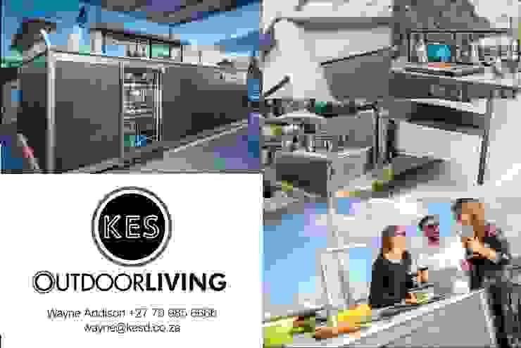 Outdoor Kitchen by KES OUTDOOR LIVING (PTY)LTD Mediterranean Ceramic