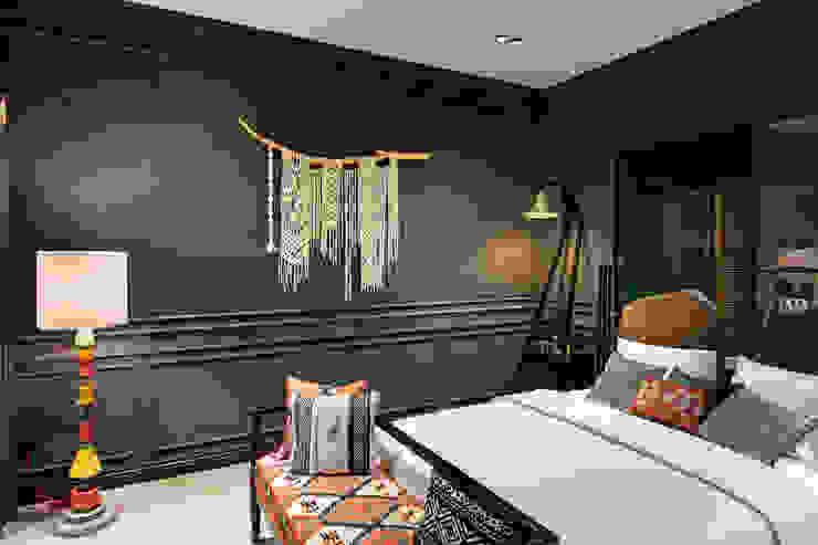 Mimoza Mimarlık Dormitorios de estilo tropical