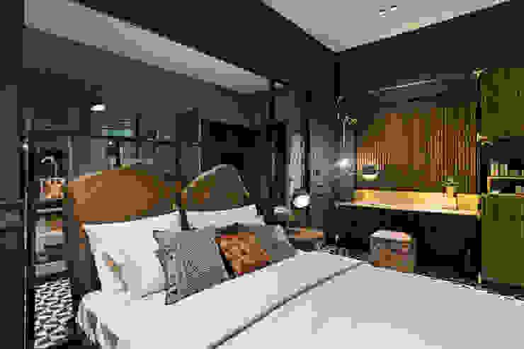 Спальня в тропическом стиле от Mimoza Mimarlık Тропический