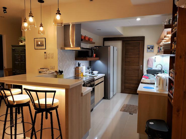 Oriental Oasis Geraldine Oliva Kitchen