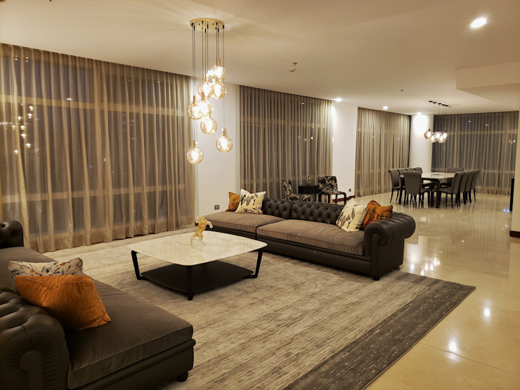 Classic Contemporary Geraldine Oliva Living room