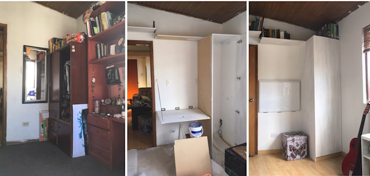 Antes - Durante - Después de PyH Diseño y Construcción