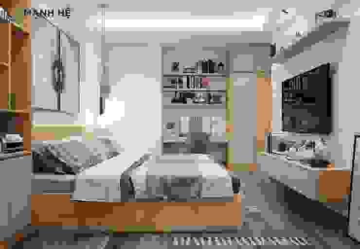 Thảm trải sàn trang trí phòng ngủ đặc sắc hơn bởi Công ty TNHH Nội Thất Mạnh Hệ Hiện đại