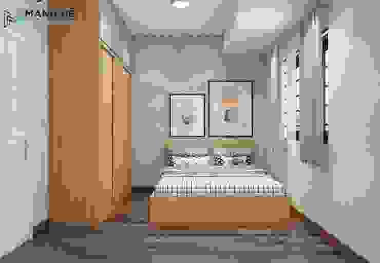 Giấy dán tường cho phòng bé thêm phần dễ thương và sáng tạo bởi Công ty TNHH Nội Thất Mạnh Hệ Hiện đại