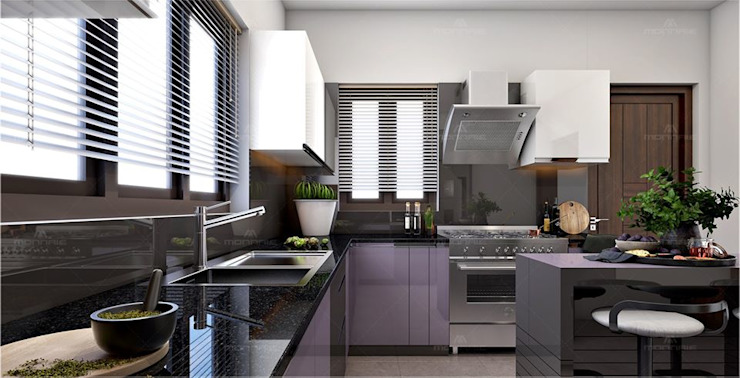 The good time to spend for us is in the kitchen, so built your kitchen as always beauty as per your taste Classic style kitchen by Monnaie Interiors Pvt Ltd Classic