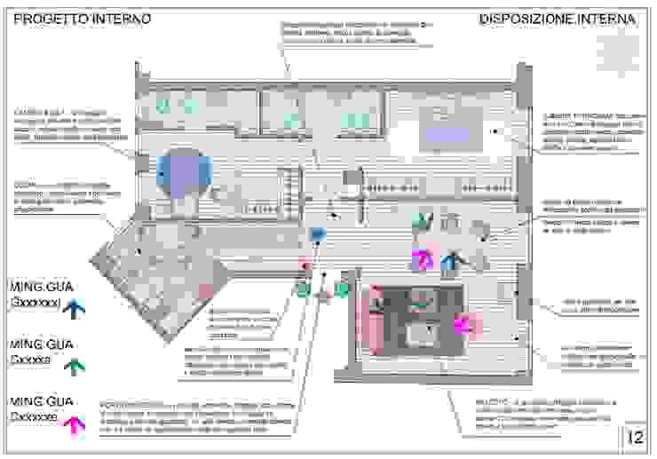 Ristrutturazione interna appartamento a Milano yugen feng shui Pavimento