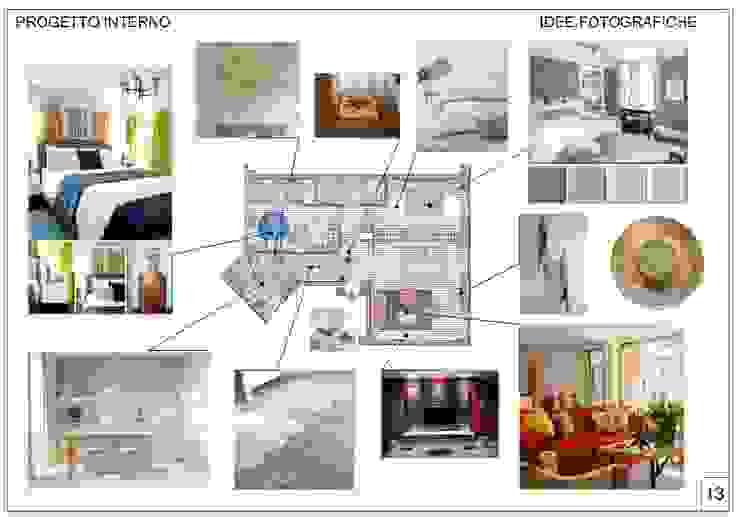 Ristrutturazione interna appartamento a Milano yugen feng shui Camera da letto moderna