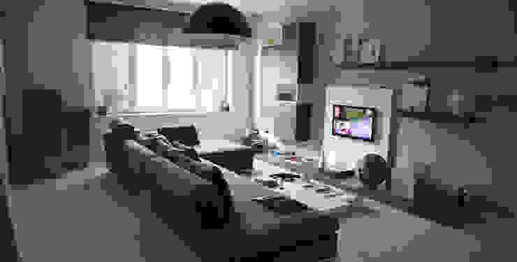 Modern Living Room by TREZZI INTERNI SNC DI TREZZI FAUSTO, FRANCESCO E DARIO Modern