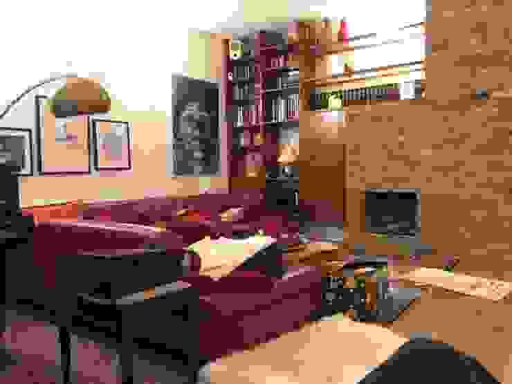 Aus alt mach neu Wohnzimmer im Landhausstil von Antik-Stein Landhaus Ziegel