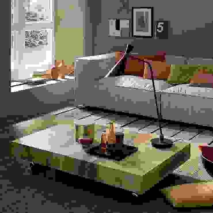 Tavolino da salotto con sorpresa Mobili a Colori Sala da pranzo moderna Legno composito Effetto legno
