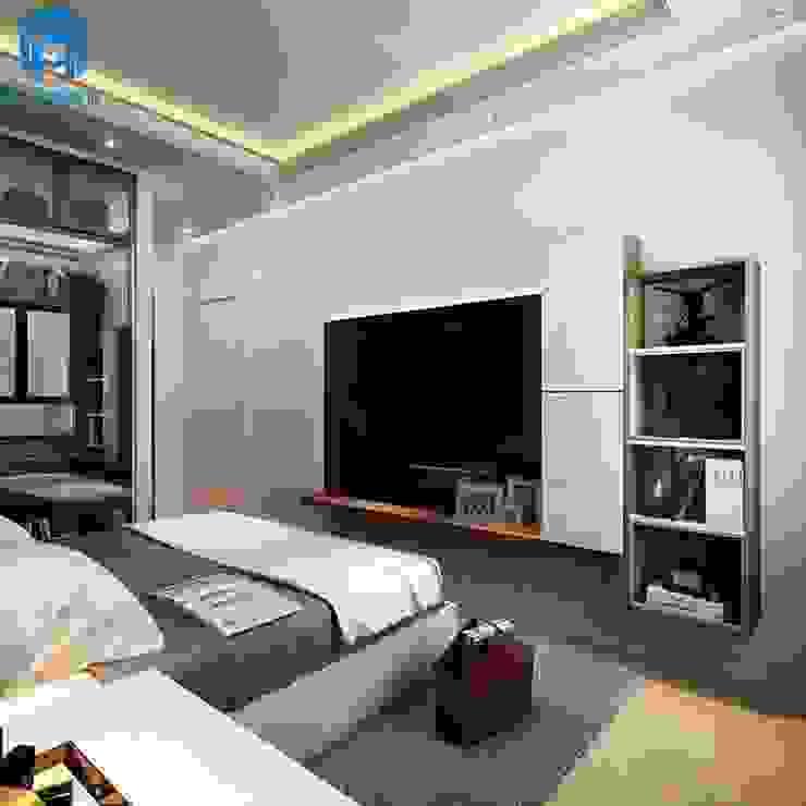 Nội thất Mạnh Hệ — đơn vị thiết kế và thi công uy tín nhất bởi Thiết kế nội thất trọn gói Hiện đại Cục đá