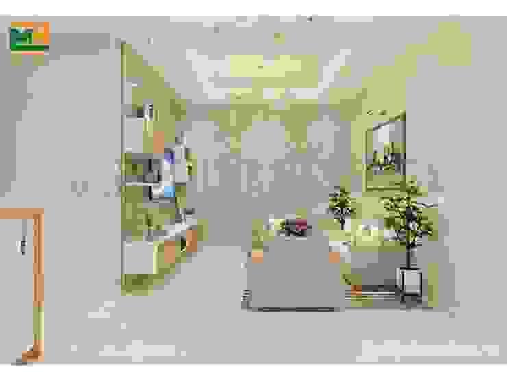 Thi công nội thất chung cư TP.HCM bởi Thiết kế nội thất trọn gói Hiện đại Cục đá