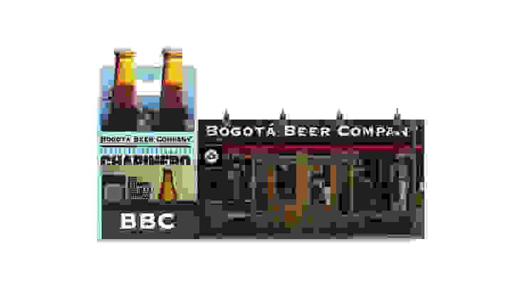 Diseño de stand para Bogota beer company de Nuvú espacios comerciales
