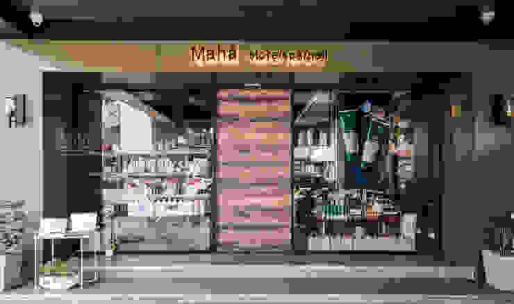 默䒩Mahā aveda 美容美體/花香翠緹 現代房屋設計點子、靈感 & 圖片 根據 SING萬寶隆空間設計 現代風