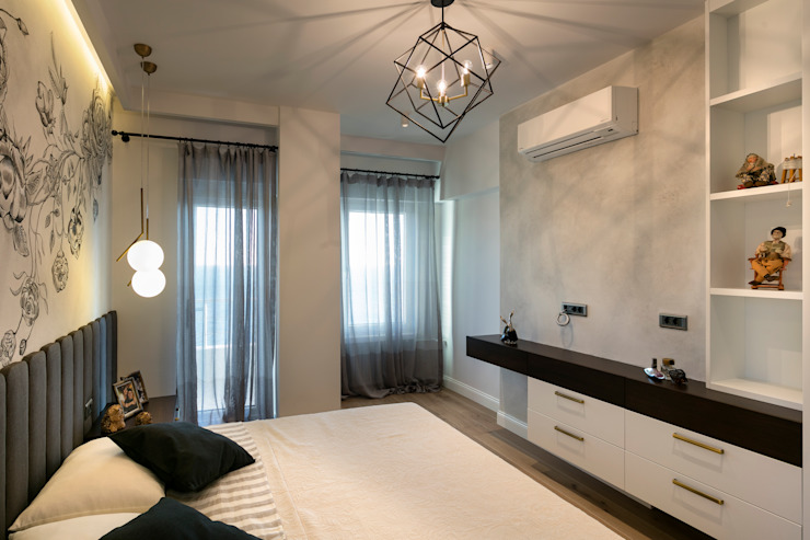 Classic style bedroom by Mimoza Mimarlık Classic