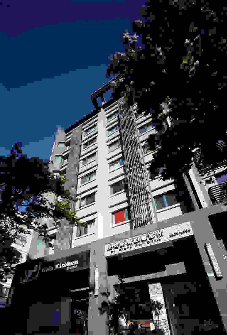 淡水三荷院社區 根據 長弘建築師事務所 現代風