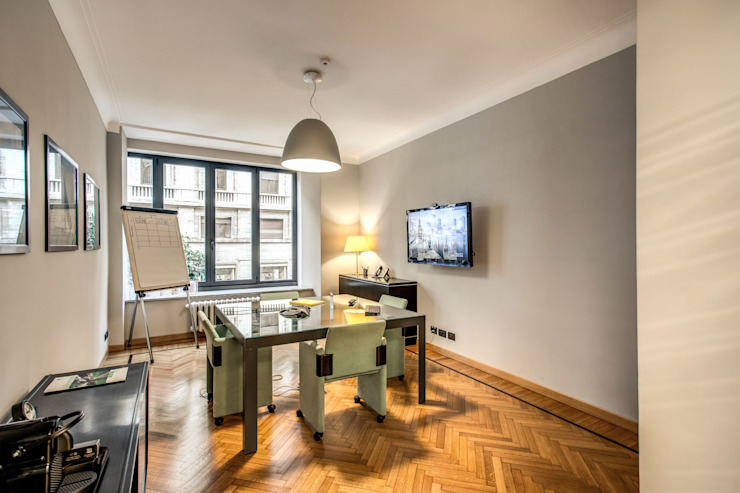 BARBERINI MOB ARCHITECTS Studio moderno