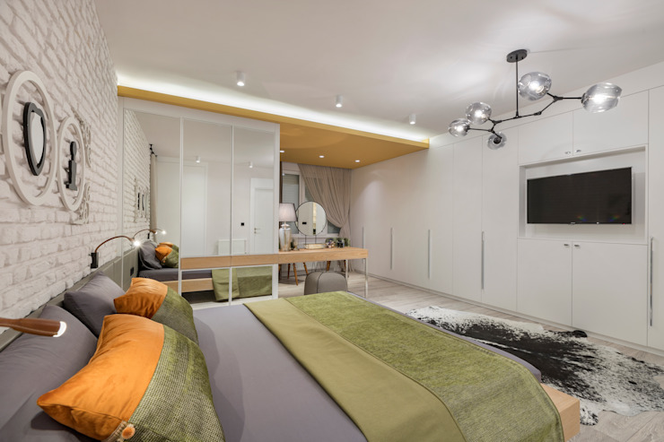 Mimoza Mimarlık Dormitorios eclécticos