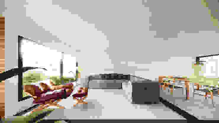 Salas Integradas - Estar e jantar Salas de estar modernas por Saulo Magno Arquiteto Moderno