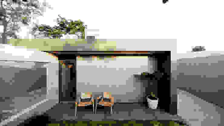 Varanda Intima do Quarto por Saulo Magno Arquiteto Moderno Cerâmica