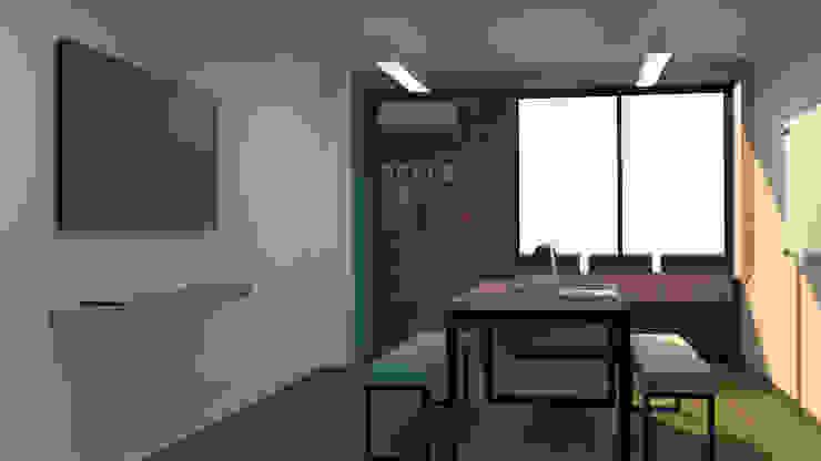 Diseño de area de bienestar para Clay S.A de Nuvú - Lideres en espacios comerciales.