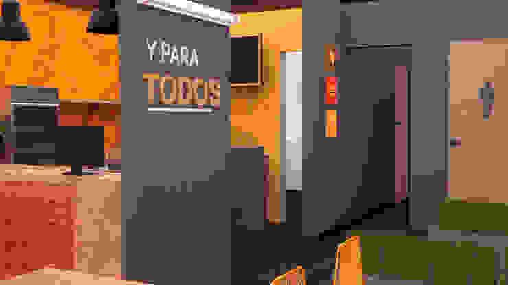 Diseño restaurante GUEROS de Nuvú - Lideres en espacios comerciales.