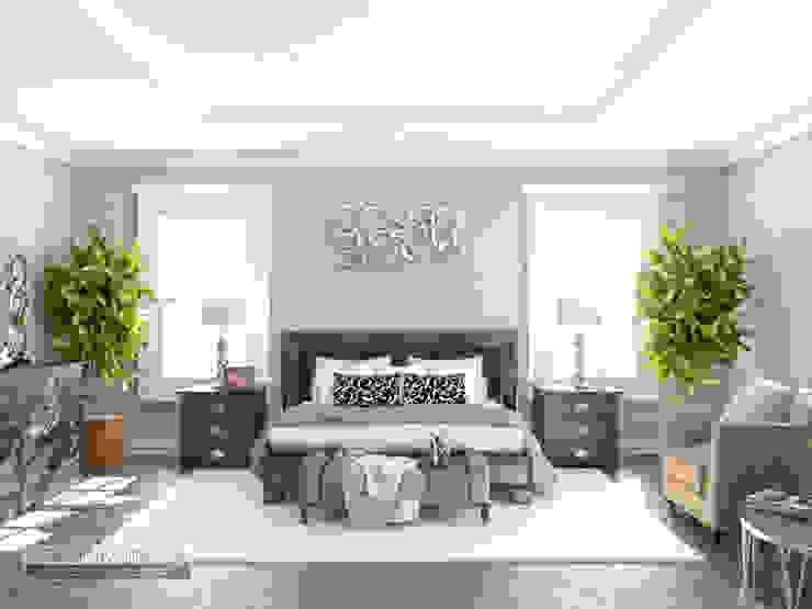 Дизайн спальни Спальня в эклектичном стиле от Kiev Design Online Studio Эклектичный