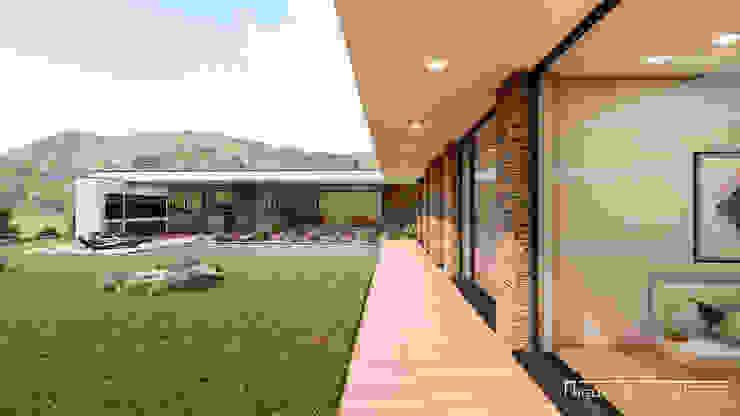 Miguel Zarcos Palma Casas de estilo moderno