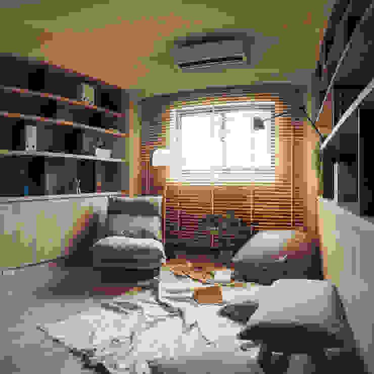 盧森堡。林宅 根據 小福砌空間設計 日式風、東方風