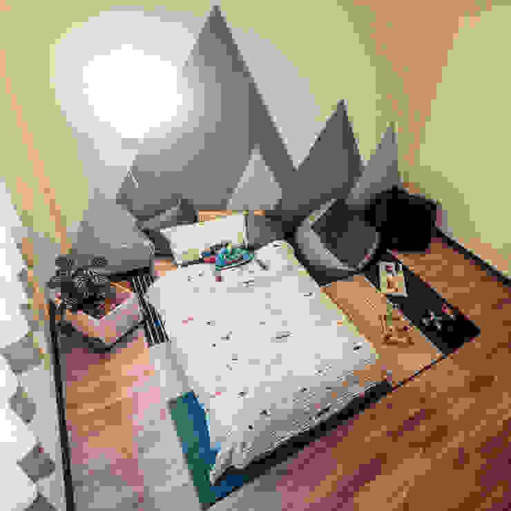 盧森堡。林宅 根據 小福砌空間設計 北歐風