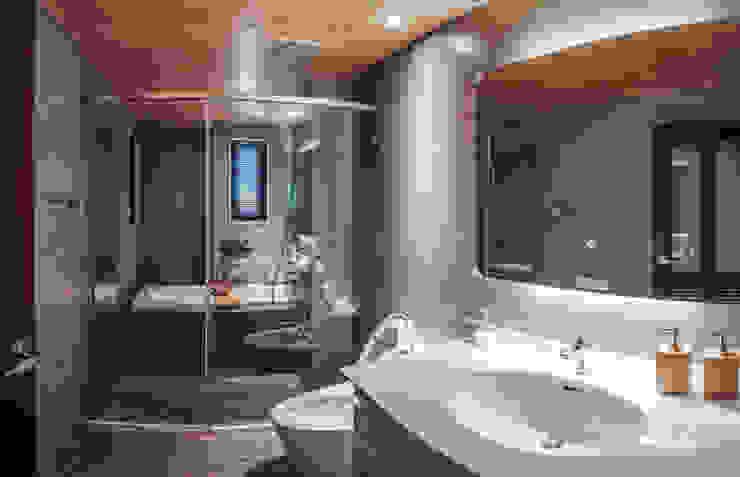 盧森堡。林宅 現代浴室設計點子、靈感&圖片 根據 小福砌空間設計 現代風