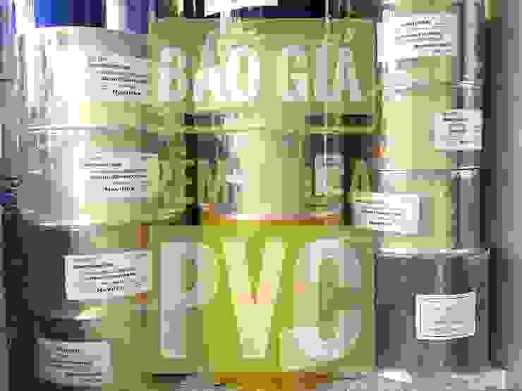 MÀN NHỰA PVC: tối giản  by Vật Liệu Nhà Xanh, Tối giản Nhựa