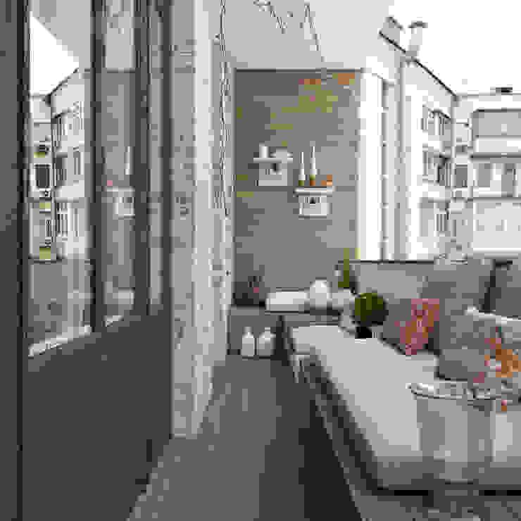Балкон от Неевроремонт Классический
