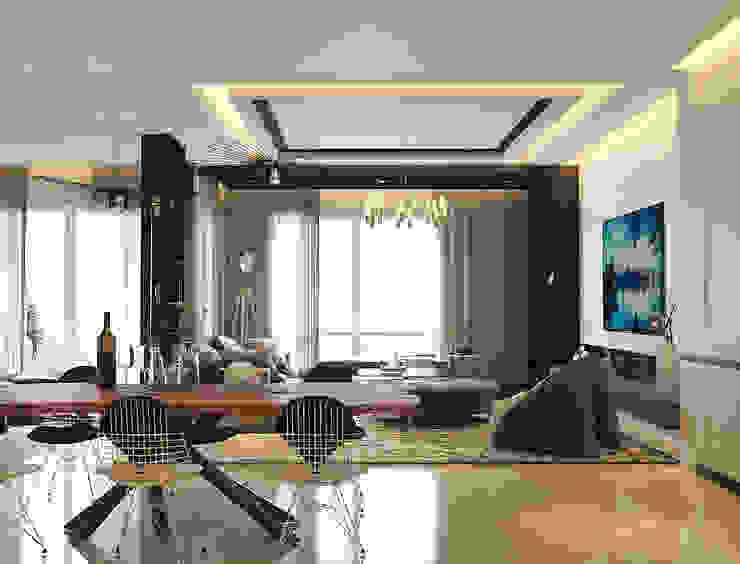 Pavilion Hilltop Norm designhaus Modern Dining Room