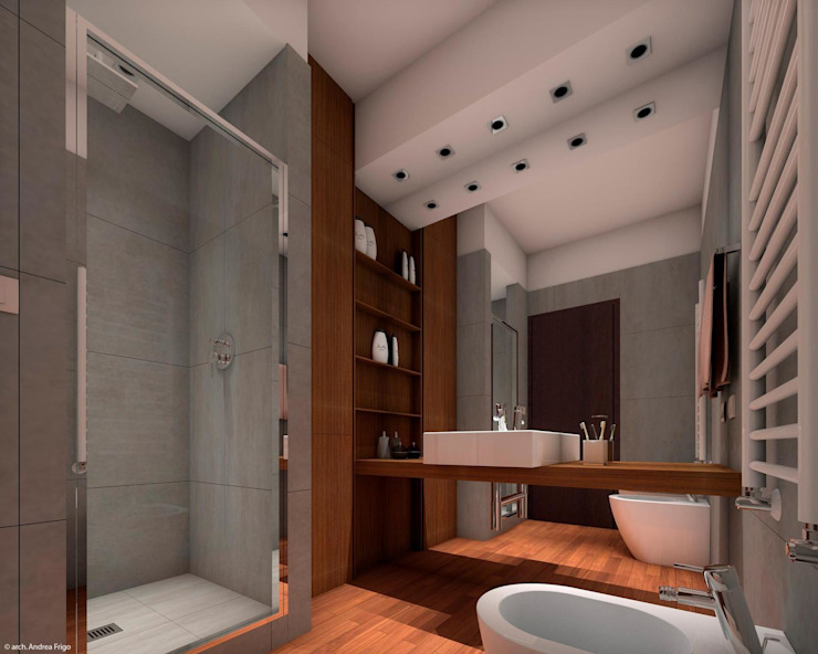 Modern Bathroom by CLARE STUDIO Modern