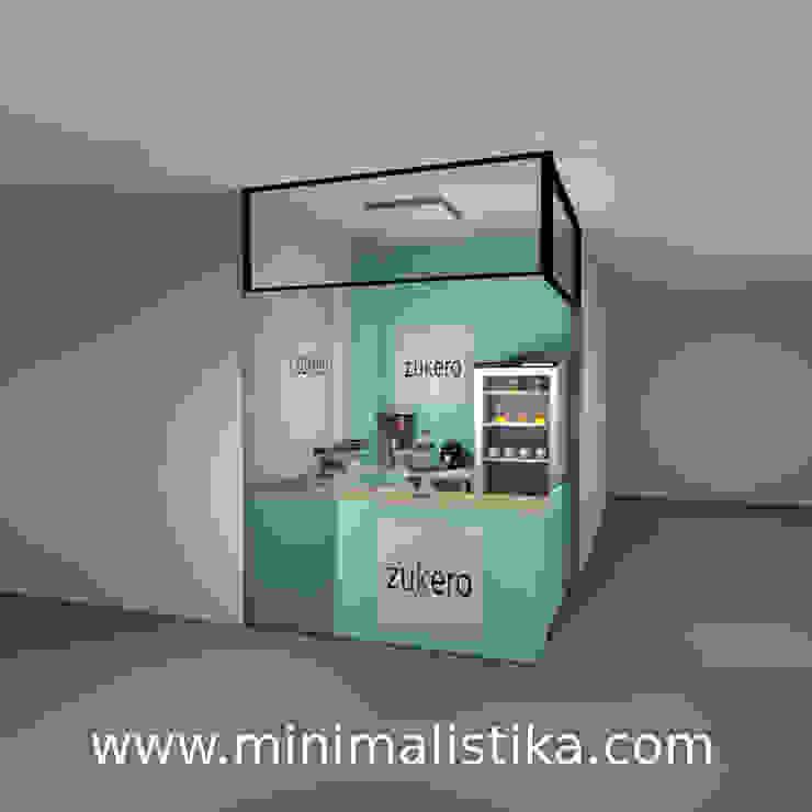 Minimalistika.com Gastronomie minimaliste Panneau d'aggloméré Vert