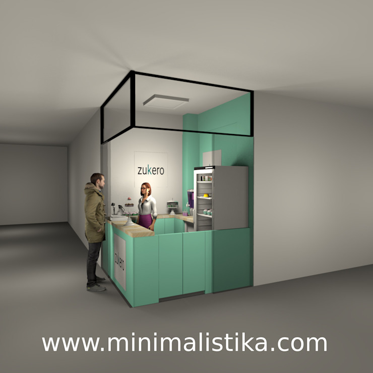 Minimalistika.com Palais des congrès minimalistes Panneau d'aggloméré Transparent