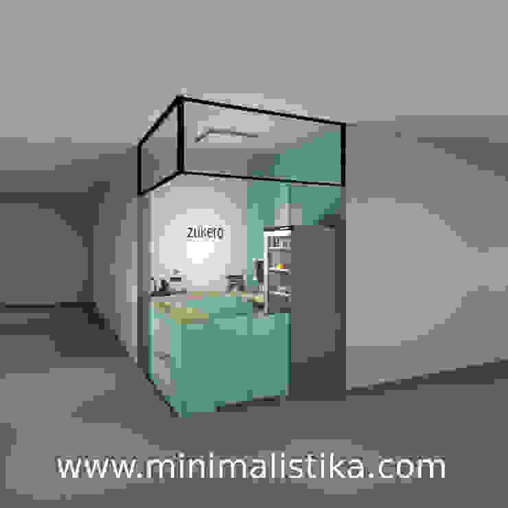 Minimalistika.com Gastronomie minimaliste Panneau d'aggloméré Turquoise