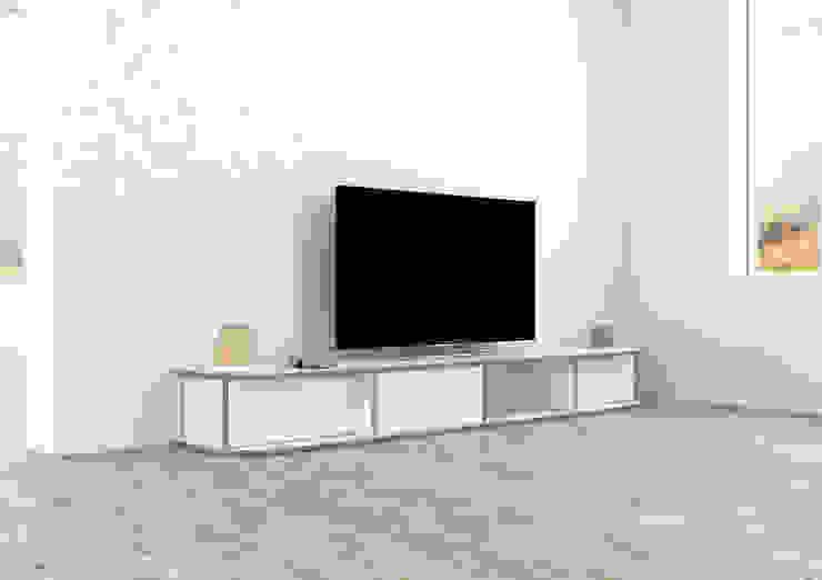 TV-Lowboard Zio: modern  von form.bar,Modern Holzwerkstoff Transparent