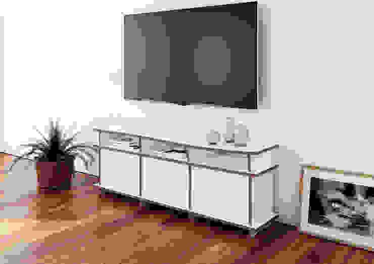 TV-Schrank Pure: modern  von form.bar,Modern Holzwerkstoff Transparent