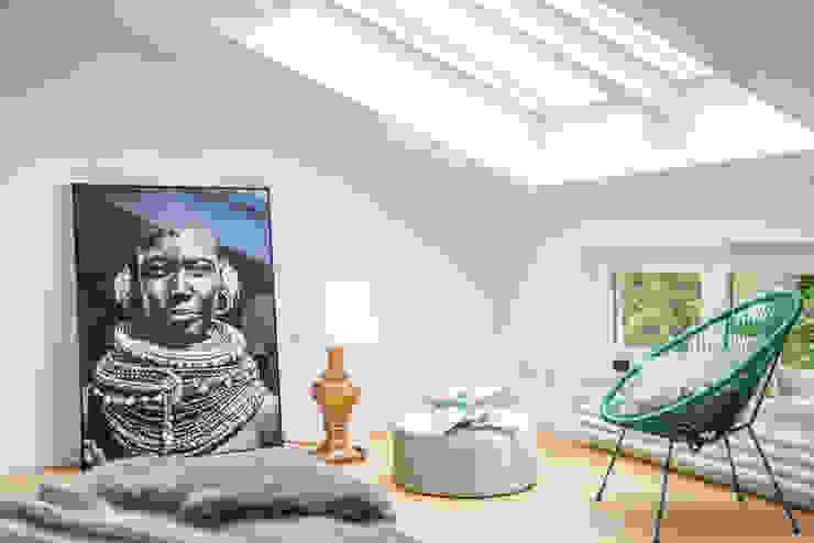 Kamar Tidur Gaya Mediteran Oleh Münchner home staging Agentur GESCHKA Mediteran
