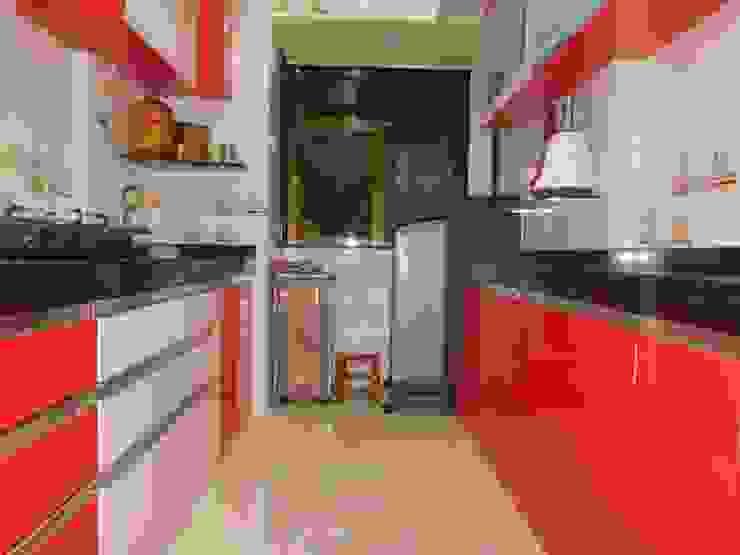 kitchen storage: modern  by AXLE INTERIOR,Modern Plywood