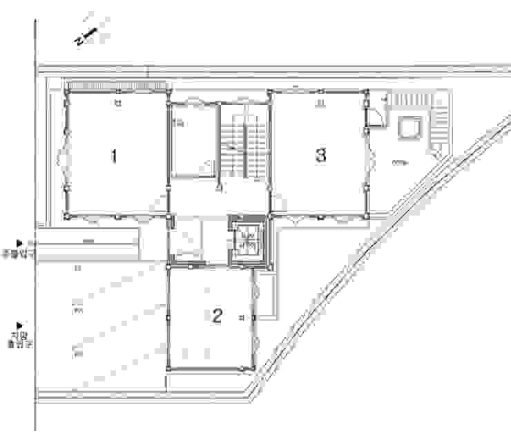 1층평면도 by 건축사사무소 한세움 한옥
