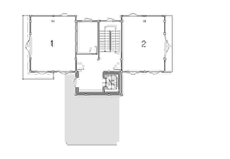 2층평면도 by 건축사사무소 한세움 한옥