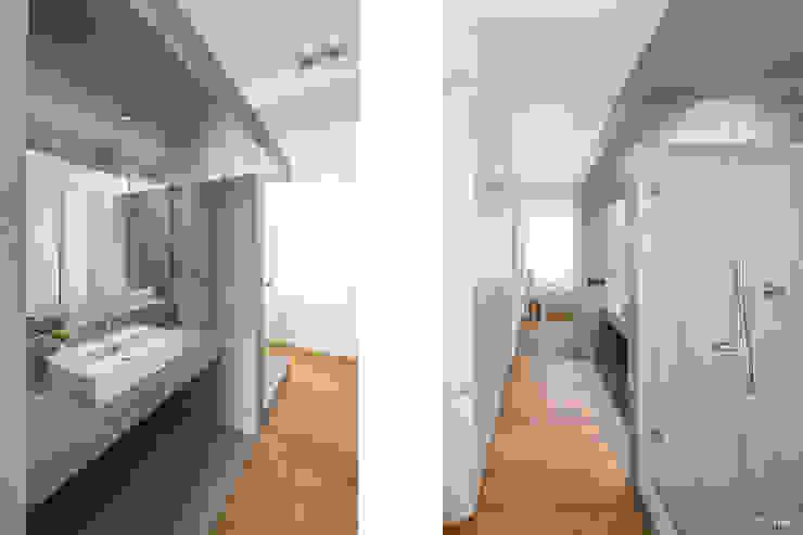 Bad ZHAC / Zweering Helmus Architektur+Consulting BadezimmerWaschbecken
